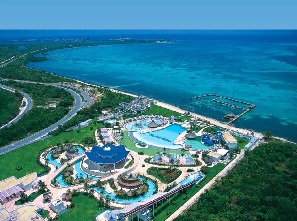 Parque aquático Wet and Wild em Cancún