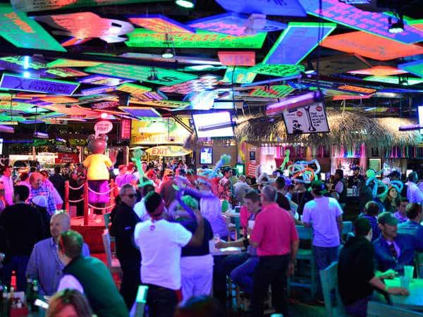 Bar Senor Frog's em Cancún