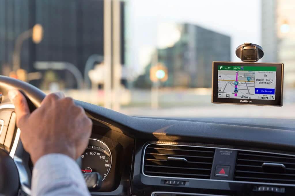 GPS em carro