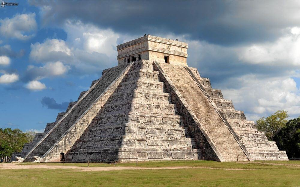 Pirâmide de Chichén Itzá em Cancún