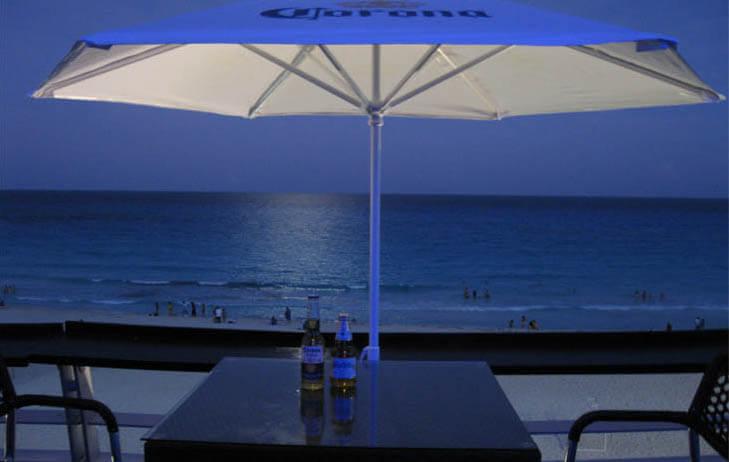 Blue Bar em Cancún