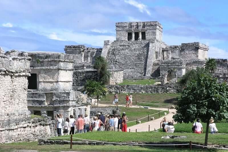 Ruínas de Tulum em Cancún