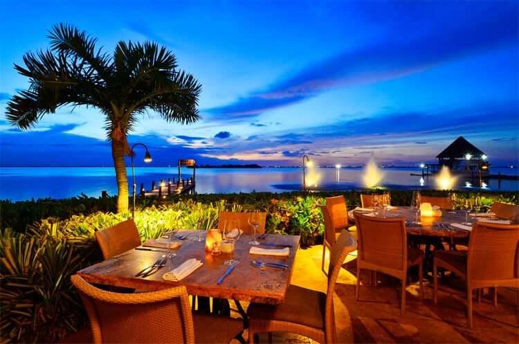 Restaurantes em um roteiro em Cancún
