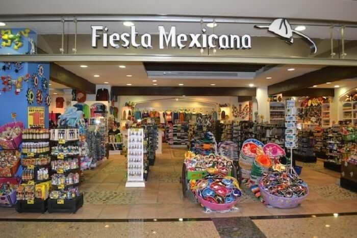Loja Fiesta Mexicana para comprar lembrancinhas e souvenirs em Cancún