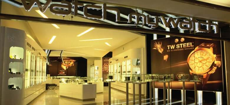 Loja Watch my Watch para comprar relógios em Cancún