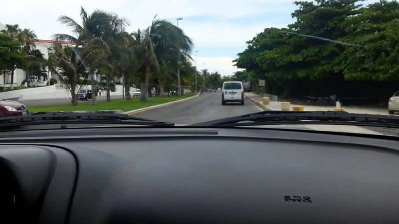 Como andar em Cancún