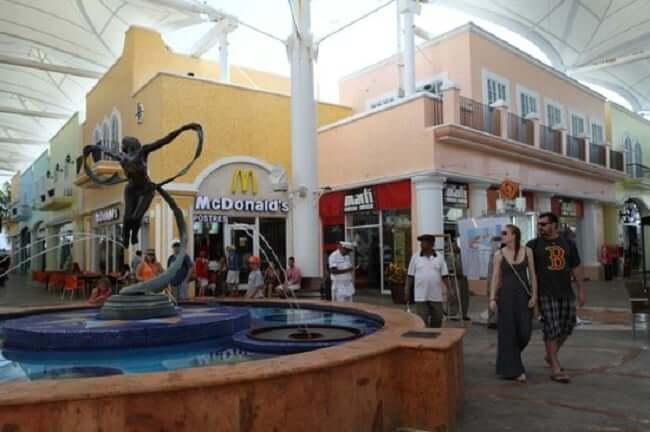 Restaurantes no Shopping La Isla em Cancún