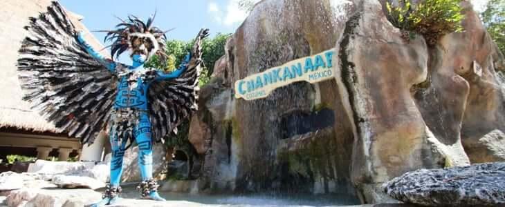Parque Chankanaab na Ilha de Cozumel em Cancún