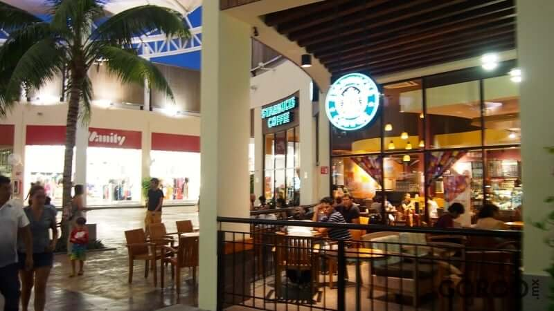 Restaurantes no Las Plazas Outlet em Cancún