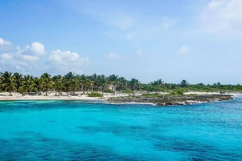 Melhores praias da Ilha de Cozumel