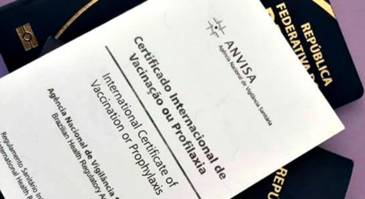 Certificado de vacinação para o México