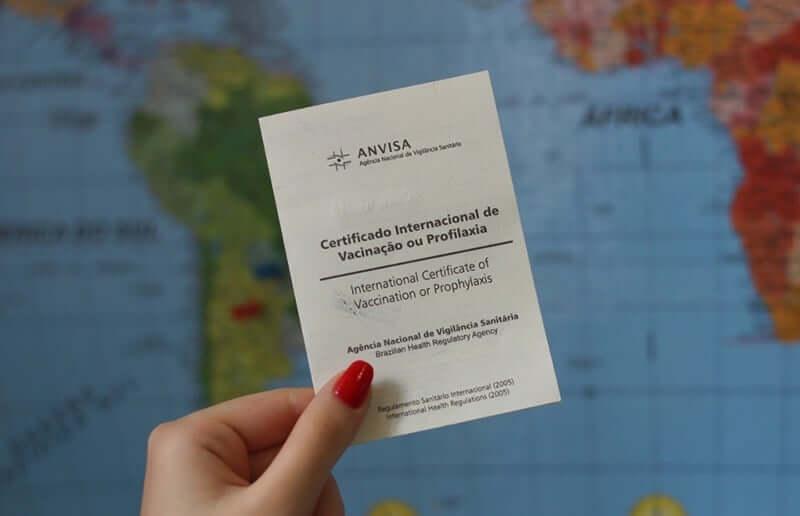 Documentos de saúde para mostrar na imigração em Cancún