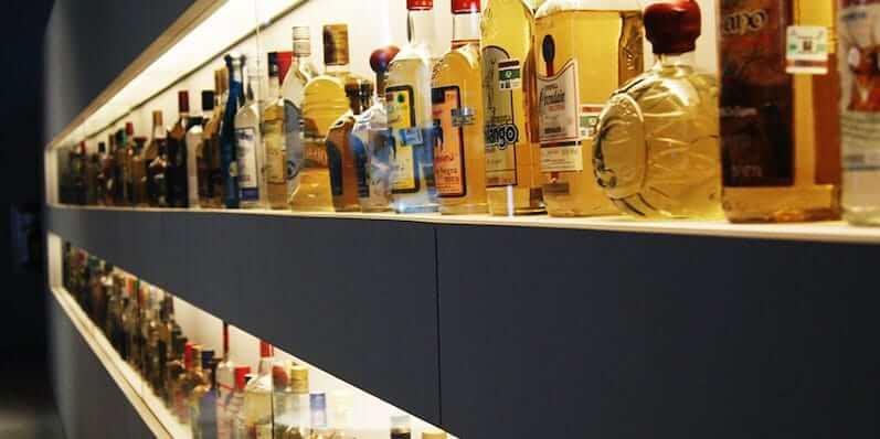 Degustação de tequilas no Museu Sensorial da Tequila em Cancún