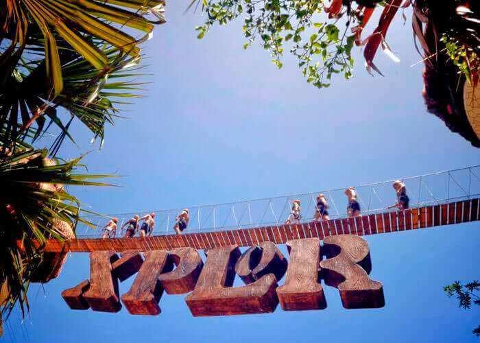 Parque Xplor em Cancún