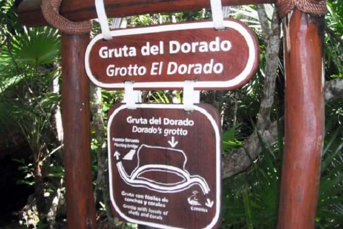 Atrações no Parque Xel-Há em Cancún - Grieta Ixchel y Gruta el Dorado