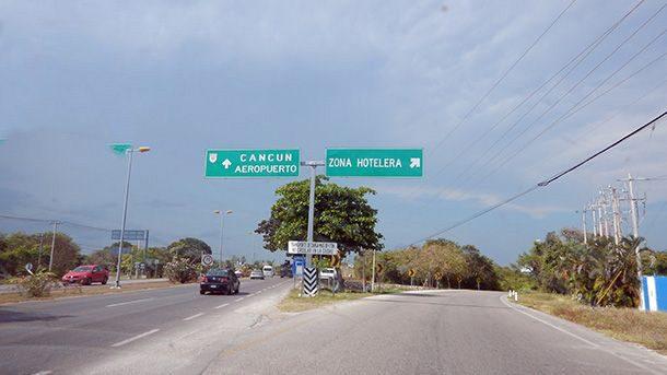 Dirigir até o Walmart em Cancún