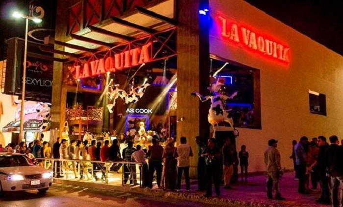 Informações sobre o bar e balada La Vaquita em Cancún