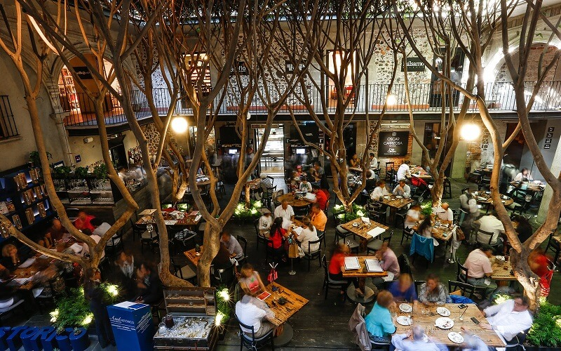 Restaurante Azul Histórico na Cidade do México