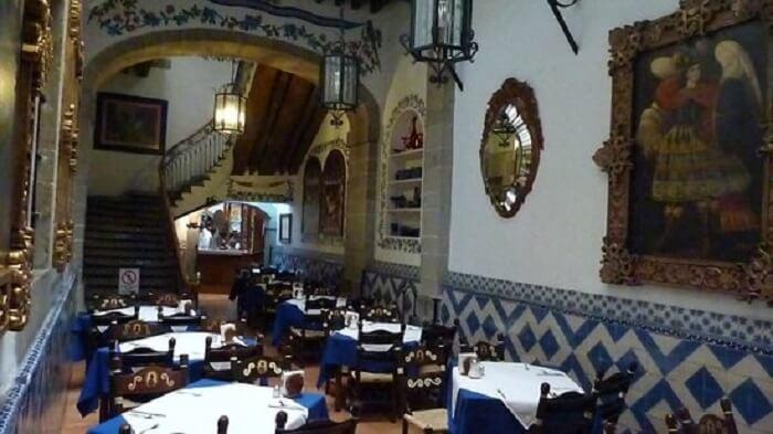 Restaurante Café de Tacuba na Cidade do México