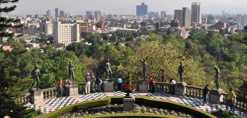 Passeio pela Avenida Paseo de La Reforma e Bosque Chapultepec na Cidade do México