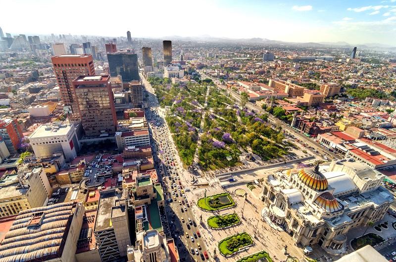 Vantagens de alugar um carro na Cidade do México