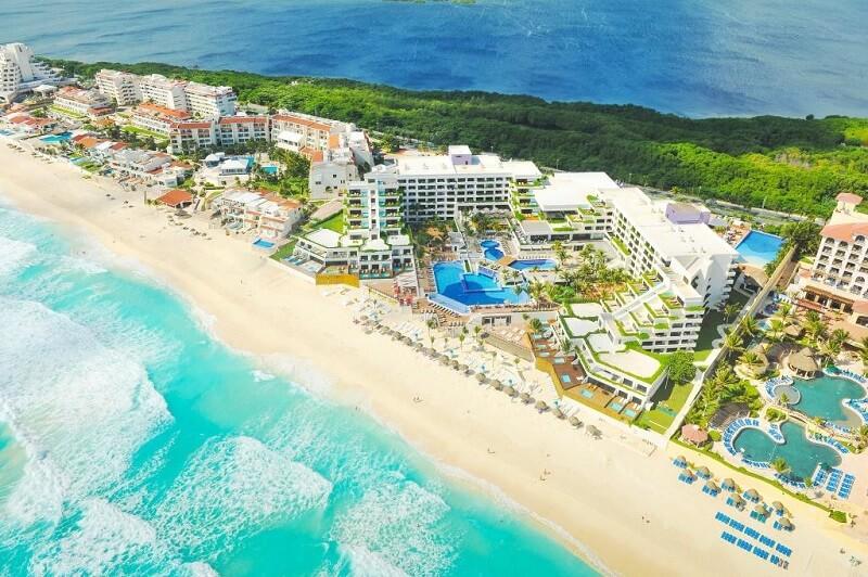 Melhores hotéis resorts em Cancún