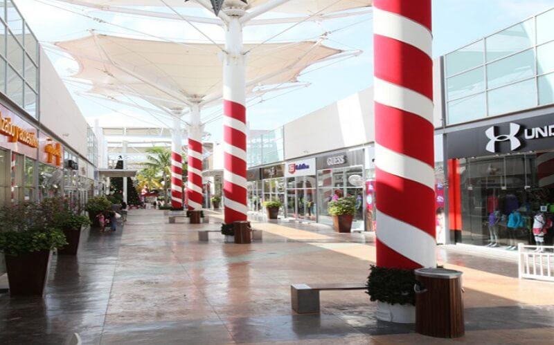 Las Plaza Outlet em Cancún