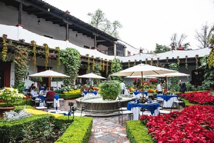 Restaurante San Angel Inn na Cidade do México