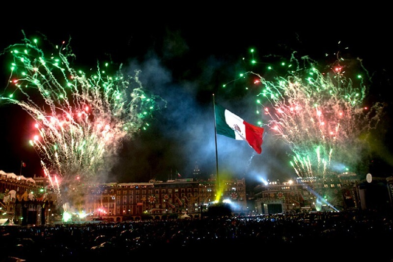 Ano Novo na Cidade do México