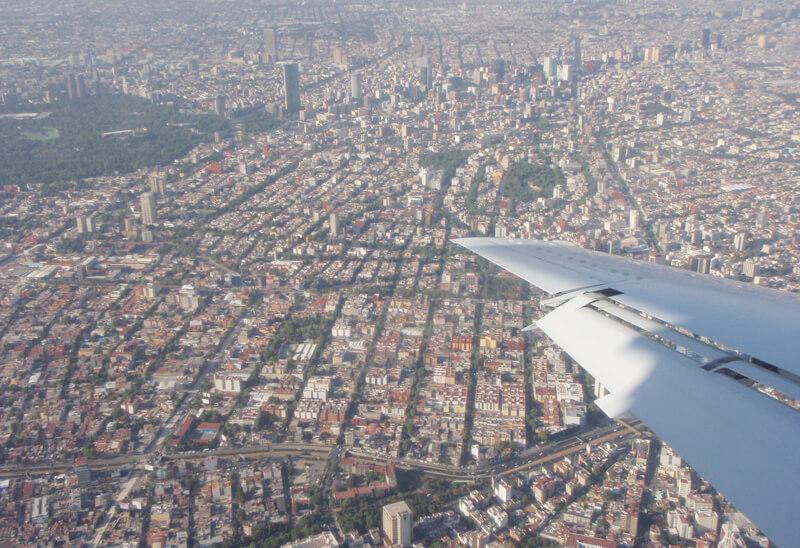 Quanto custa uma passagem aérea para a Cidade do México