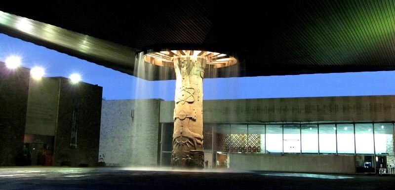 Roteiro no Museu Nacional de Antropologia na Cidade do México