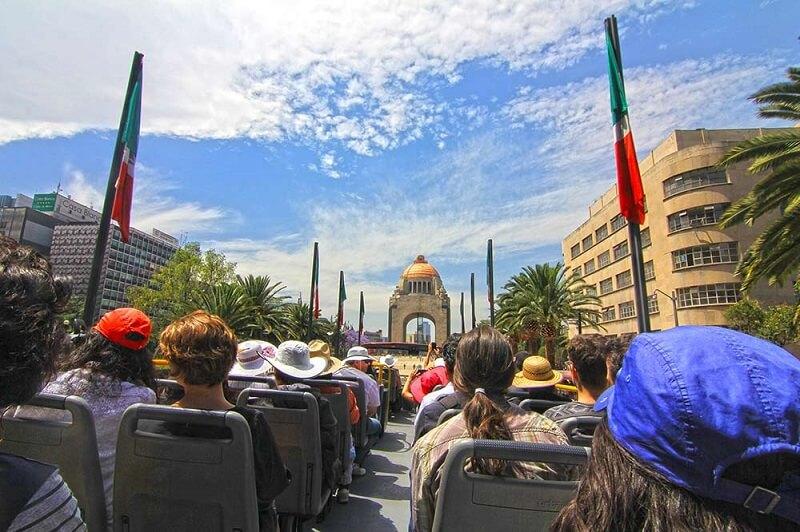 Passeio turístico ônibus Hop on Hop Off na Cidade do México