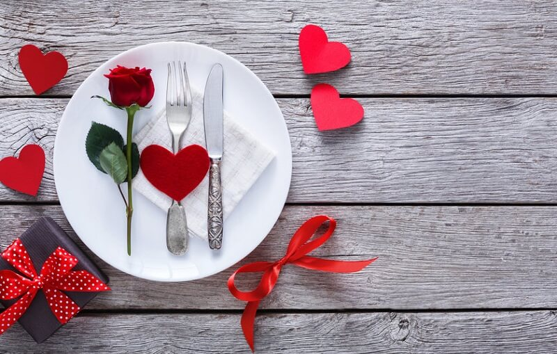 Passeio romântico nos restaurantes na Cidade do México