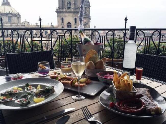 Restaurante em Zócalo na Cidade do México