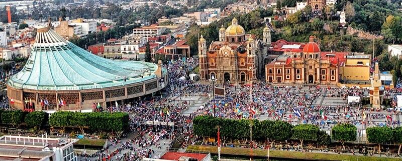 Roteiro na Basílica Guadalupe na Cidade do México