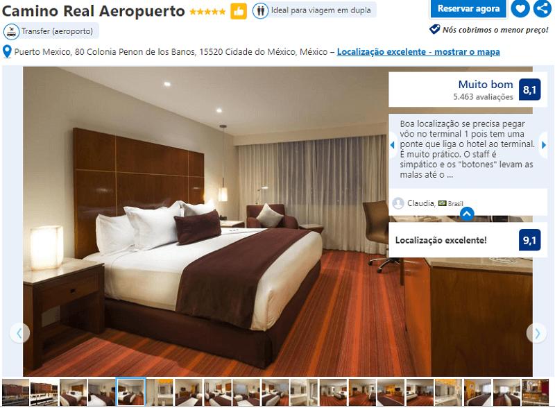 Hotel Camino Real Aeropuerto para ficar na Cidade do México