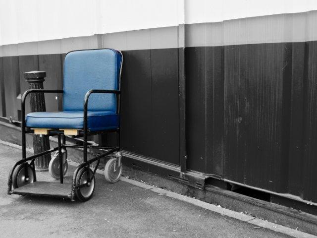 Deficientes físicos na Cidade do México