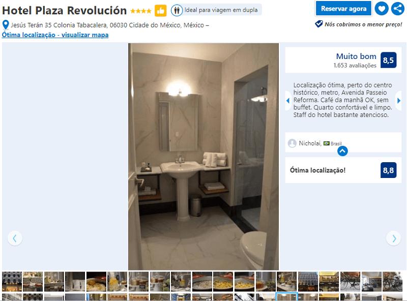 Hotel Plaza Revolución para ficar na Cidade do México
