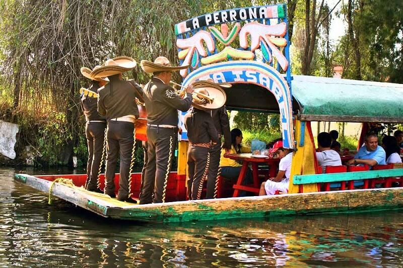 Roteiro de viagem com passeio Xochimilco na Cidade do México
