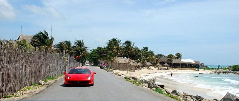 Dirigir em Tulum no México