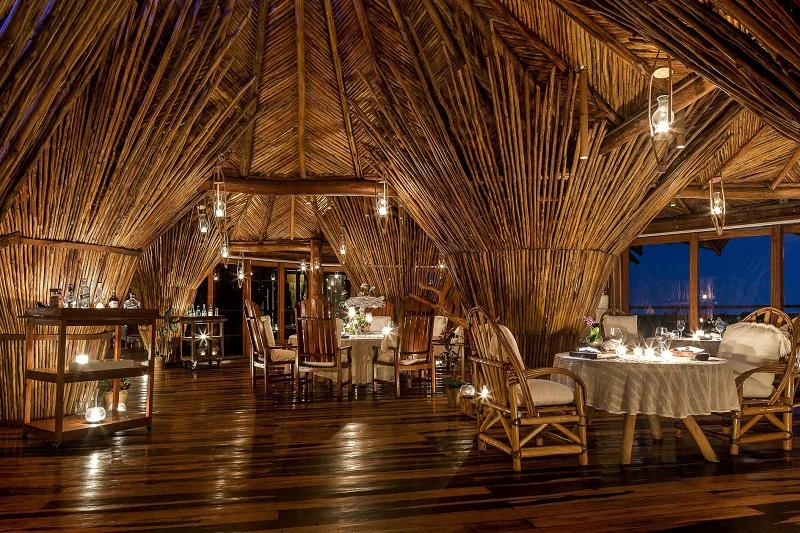Restaurante Kin Toh para curtir na noite em Tulum