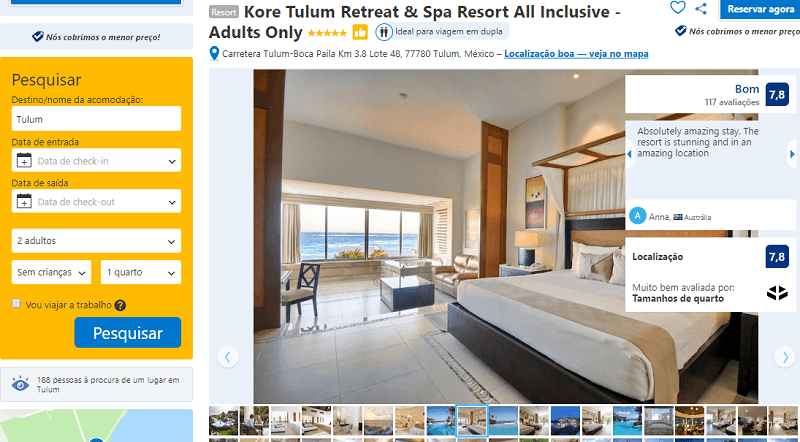Estadia no Kore Tulum Retreat & Spa Resort All Inclusive - Adults Only