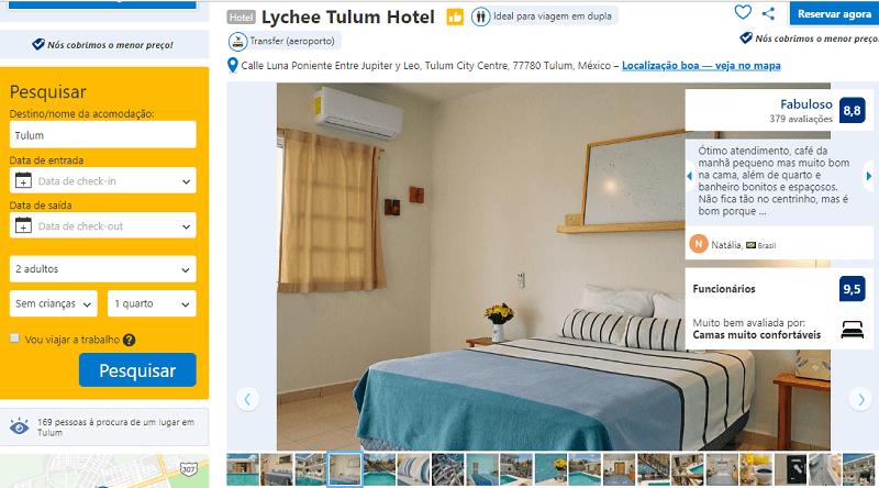 Estadia no Lychee Tulum Hotel
