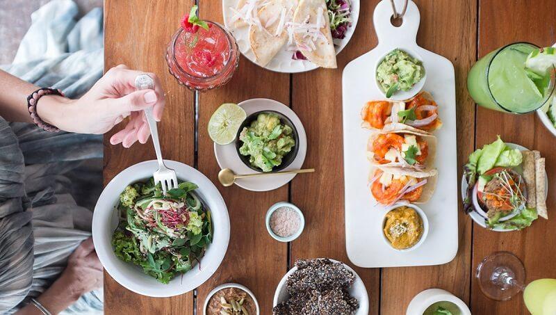 Regiões de restaurantes em Tulum