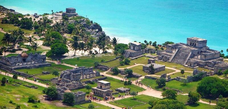 Ruínas de Tulum no México