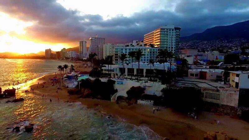 Passeios românticos em Acapulco