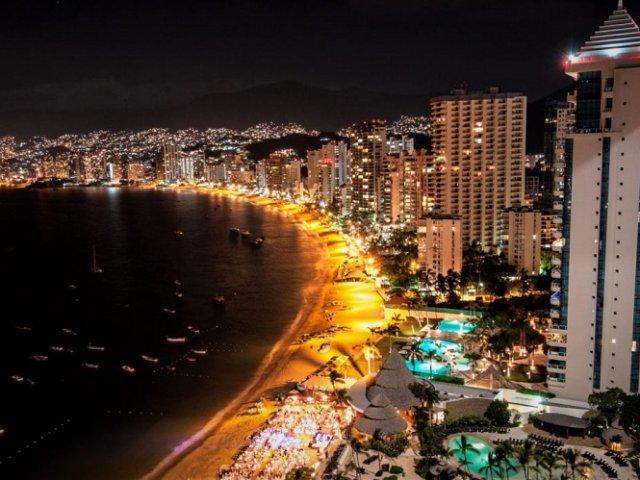 O que fazer a noite em Acapulco