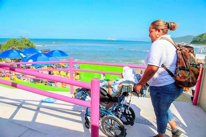 Acessibilidade para deficientes físicos em Acapulco