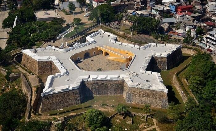 Conhecer o Forte de San Diego em Acapulco