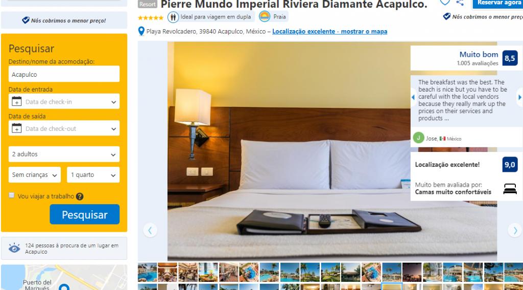 Hotel Pierre Mundo Imperial Riviera Diamante Acapulco México